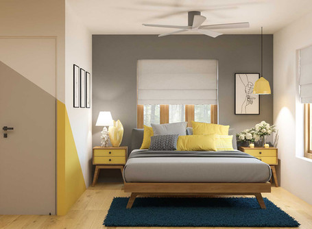 A pinch of pop colors for a fresh new interiors
