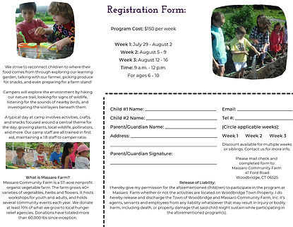 Summer Camp at the Farm Autism Connecticut