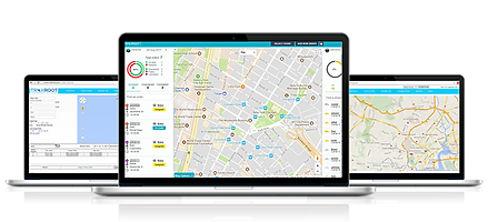 Traxroot field service management software dashboard