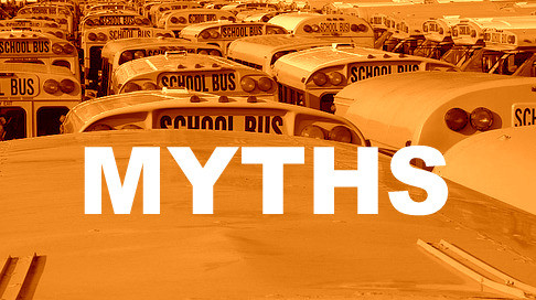 Top 3 Myths of using school bus tracking