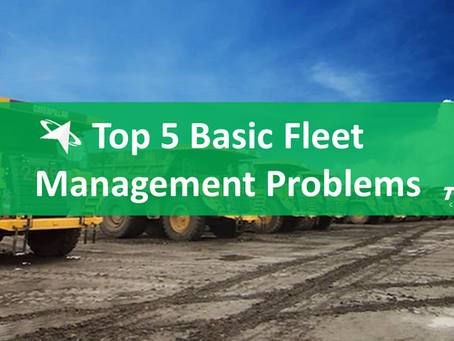 Top 5 Basic Fleet Management Problems and Challenges