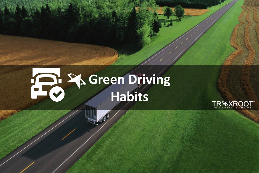 green driving habits for your fleet