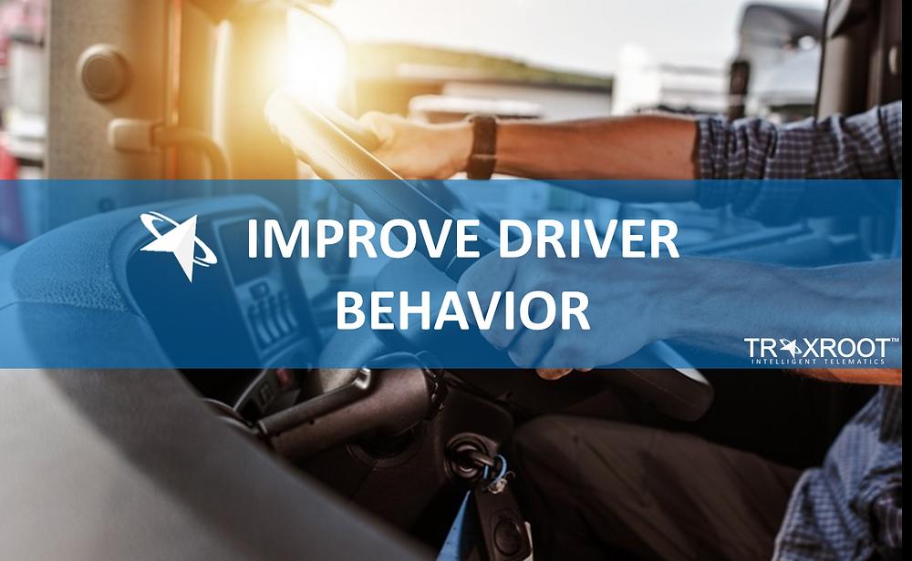 Improve driver behavior with fleet management system