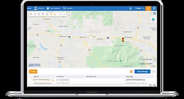 Traxroot map dashboard