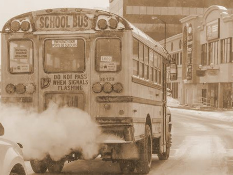 How Does School Bus Emission Influence Learning In Students ?