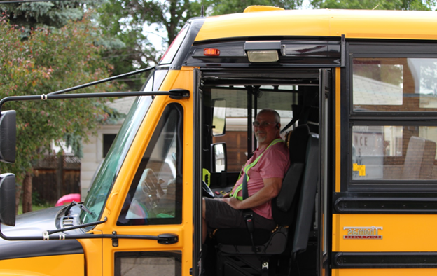 school bus driver benefits from GPS Tracker