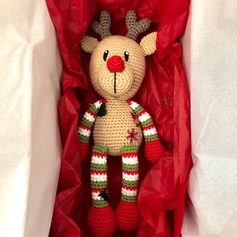 Reindeer in a Gift Box