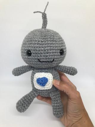 Crochet Robot Toy