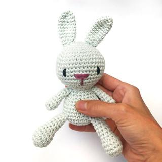 Round bunny Mint