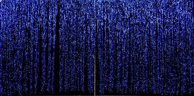BLUE MYLAR