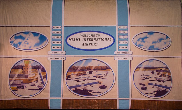 MIAMI AIRPORT WINDOW