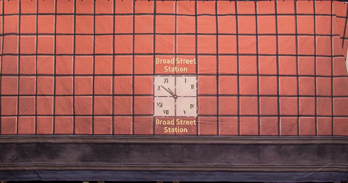 BROAD STREET STATION BACKER