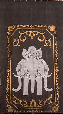 3 ELEPHANT MURAL