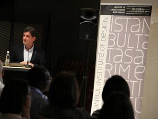 OzU / İID hosts World Design Talks Istanbul in collaboration with World Design Organization (ICSID).