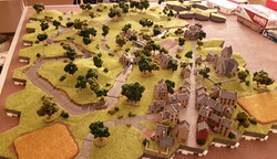 6mm WWII town