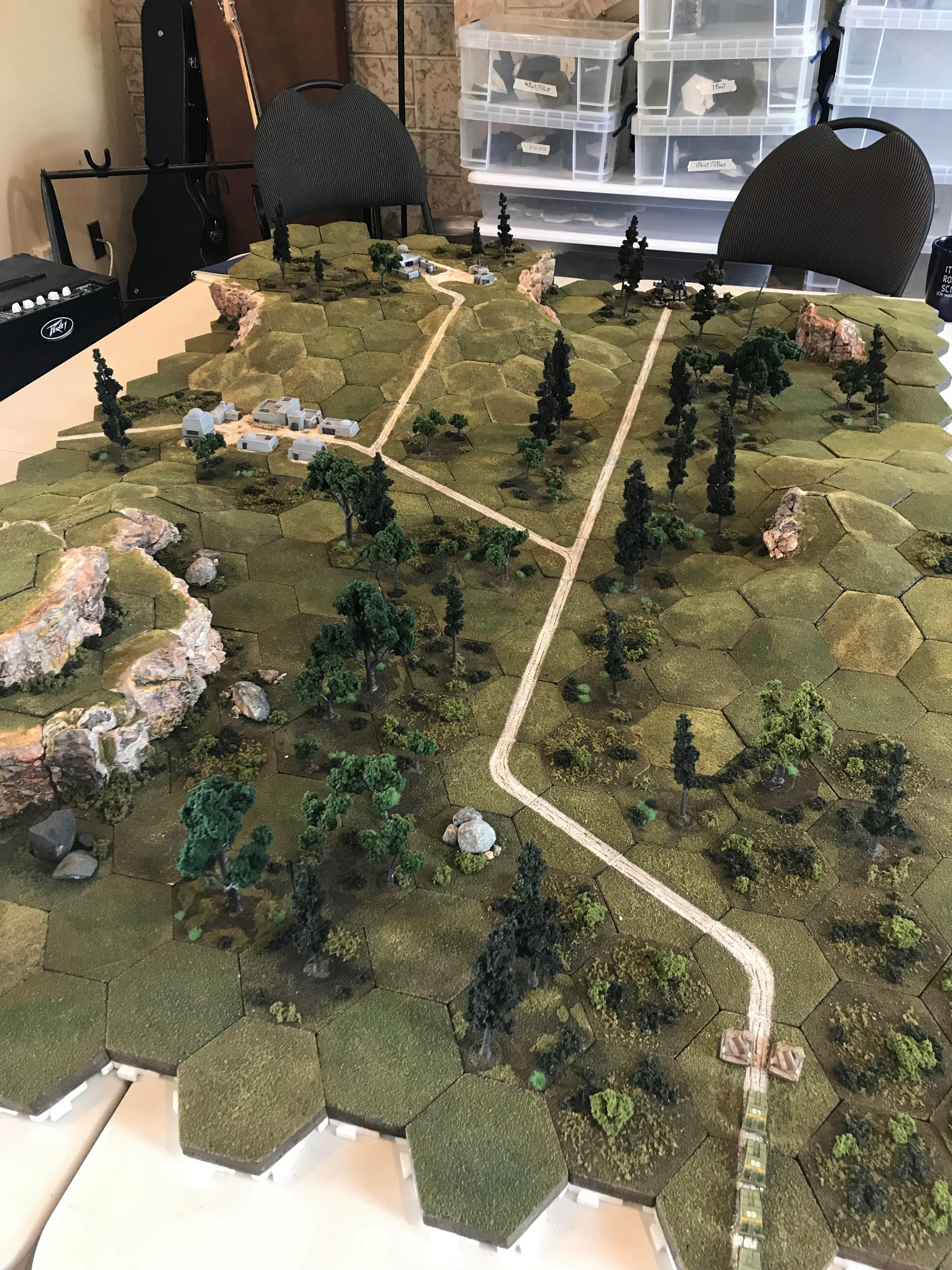 Battletech - Forest Ambush