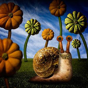 Garden snails have lots of teeth.