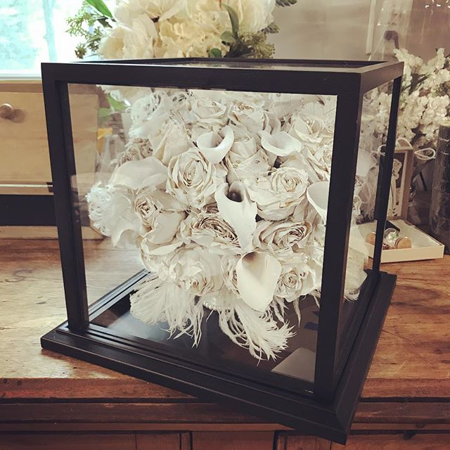 Tabletop display cube! This bouquet was
