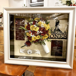 Danielle ordered her shadow box in Octob