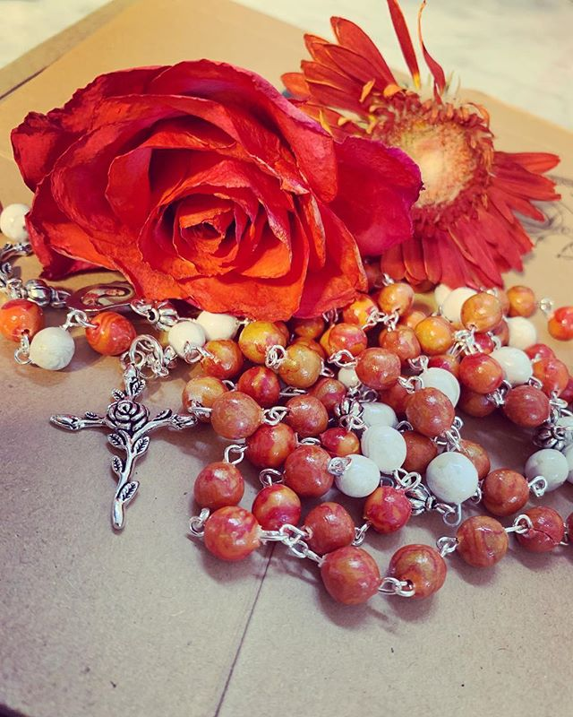 Just one more rosary pic ⛅️💙