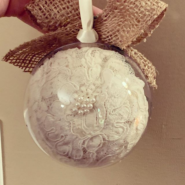 Swooning over the ornament lace from the