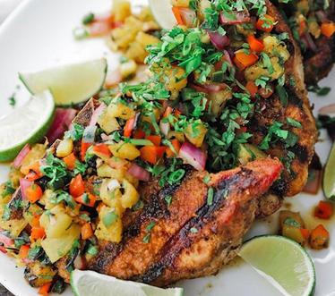Jamaican Jerk Pork Loin.