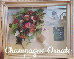 16x20 Champagne Ornate Upgrade