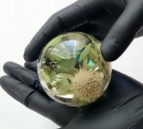Resin Sphere Paperweight
