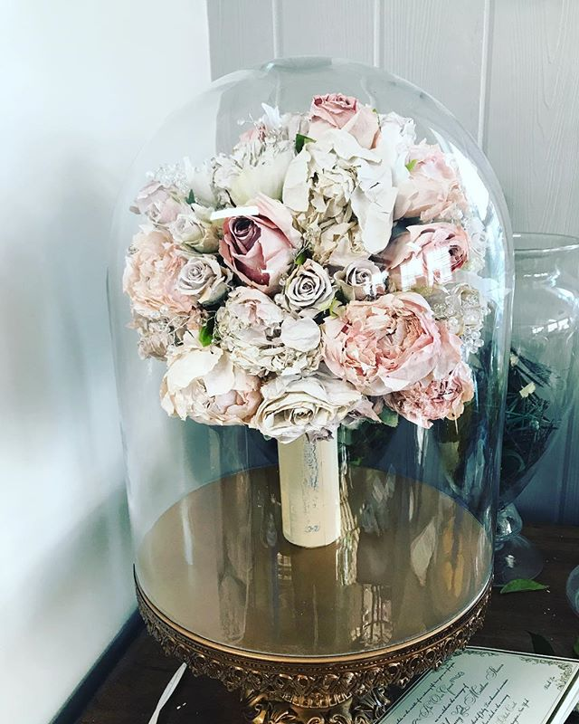 This bouquet has given me a run for my m