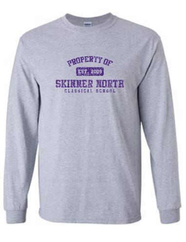 Grey Property of SN Sweatshirt