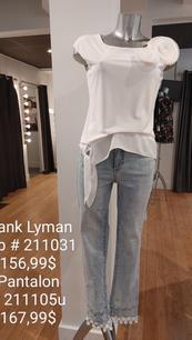 Frank Lyman top et pantalon