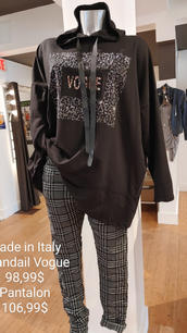 Made in Italy chandail Vogue et pantalon