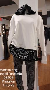 Made in Italy chandail Fantastic et pantalon