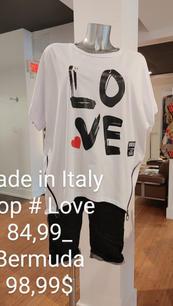 Made in Italy Top et Bermuda