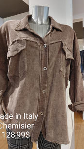 Made in Italy chemier brun pale