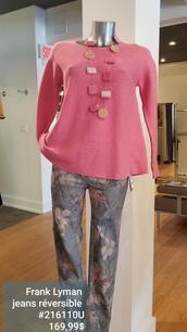 Frank Lyman jeans et top