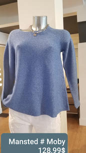 Mansted Moby bleu 128,99$