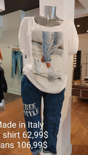 Made in Italy t shirt et Jeans