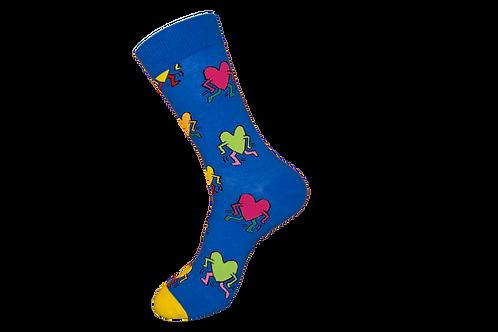 Adults - Happy Hearts Socks