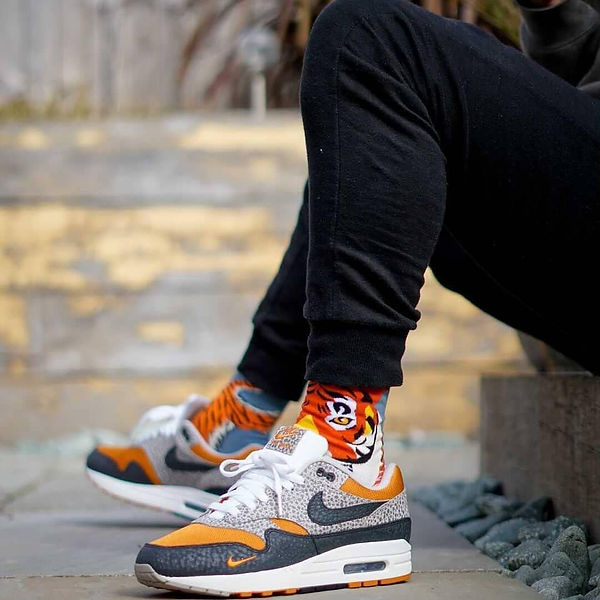 Tiger odd socks