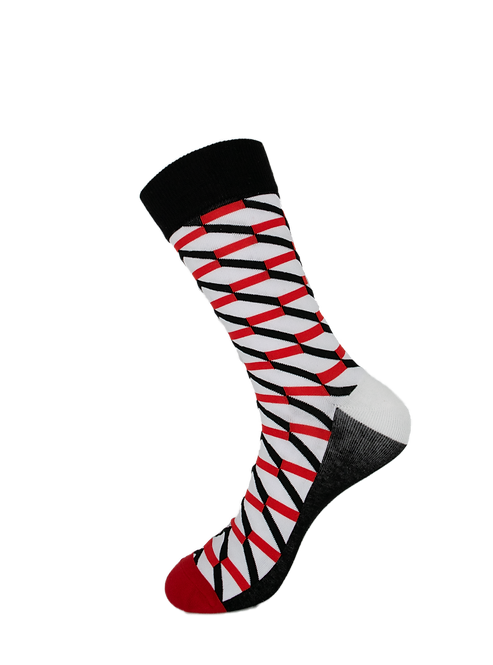Adults - Striped Luxury Cotton Socks