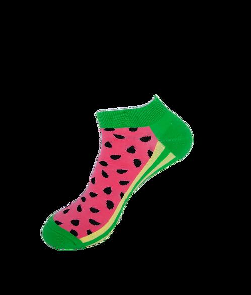 Adults-Watermelon Ankle Socks