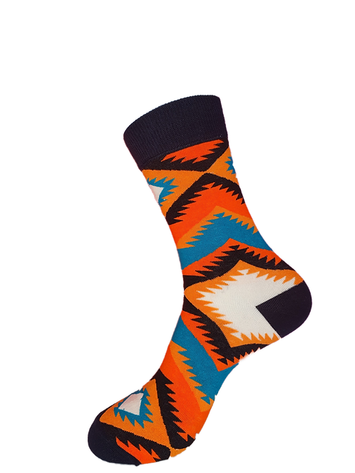 Adults -Aztec Print Socks