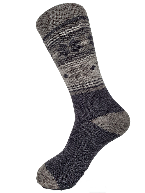 Thermal Insulated Socks -Charcoal/Light Grey