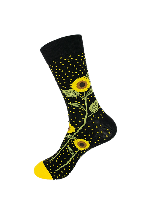 Adults - Sunflowers Cotton Socks