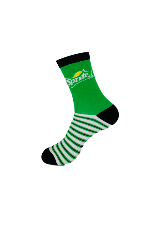 Adults - Sprite Themed Soft Bamboo Socks