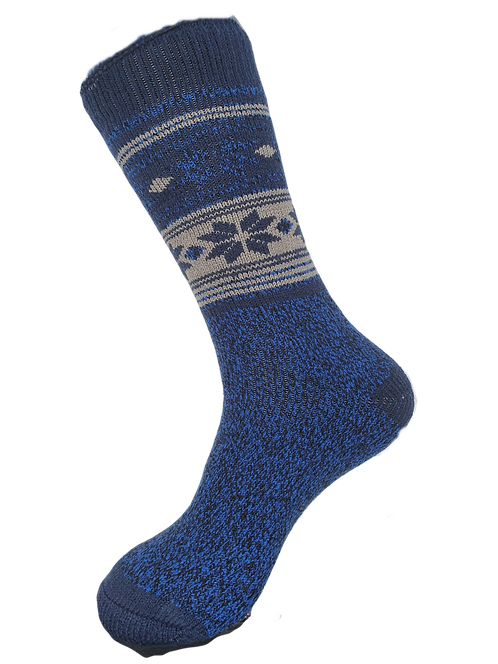 Thermal Insulated Socks -Blue/Navy