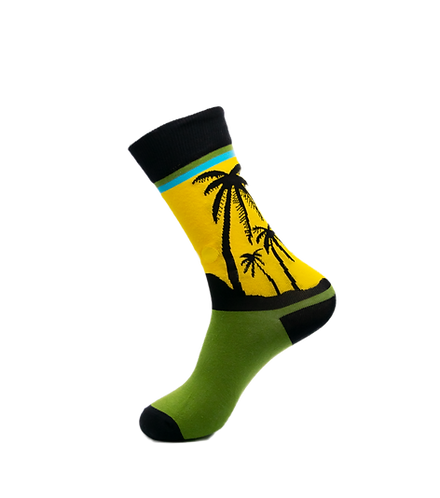 Adults - Tropical Breeze Cotton Socks