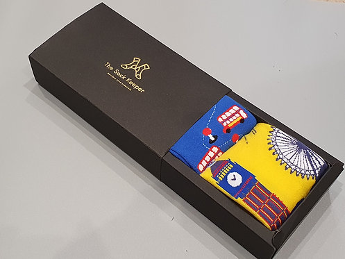 Twin Pack Patterned Gift Box - London Monuments