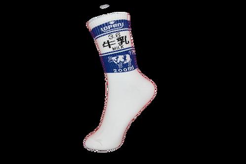Adults - Japanese Kawaii Socks -Blue